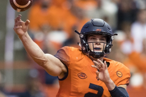 Eric Dungey now fourth on Syracuse's all-time passer list