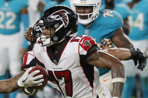 Falcons inactives: Marvin Hall, Vic Beasley active against the Dolphins