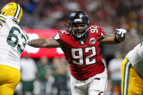 Falcons DT Dontari Poe comes through with big 4th down stop