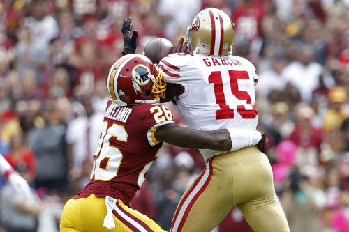 Redskins CB Bashaud Breeland Questionable to return with hamstring injury