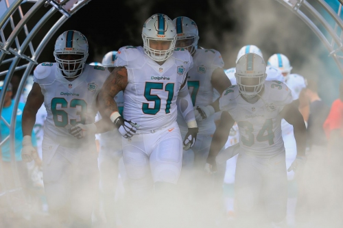 Mike Pouncey in concussion protocol