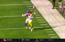 Laquon Treadwell hauls in one-handed catch using only his fingertips