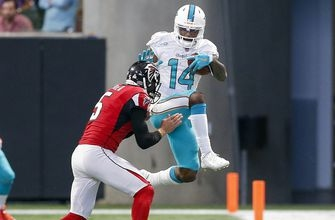 Dolphins clamp down in 2nd half to pull off comeback win over Falcons