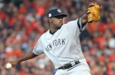 Severino 'didn't agree' with being taken out of the game