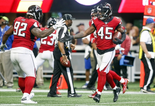 Deion Jones wins Falcons MVP for Week 6 loss to Dolphins