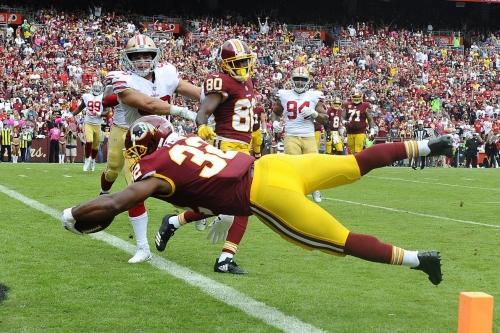 Washington Redskins Hold on to Beat Winless San Francisco 49ers, 26-24