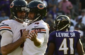 Connor Barth delivers game-winning 40-yard FG as the Bears claw past the Ravens 27-24 in OT