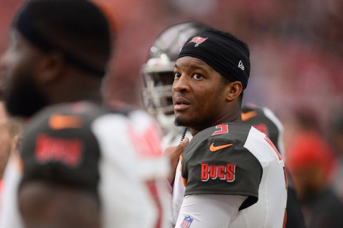 Jameis Winston could play in an emergency with injured shoulder