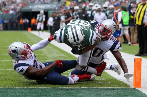 Here are five observations from Sunday's early Week 6 games:1. Jets get hosed by awful call — There'…