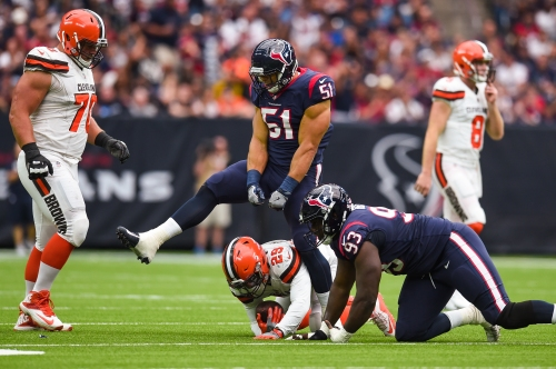 Texans Defense Stands Tall Against Browns