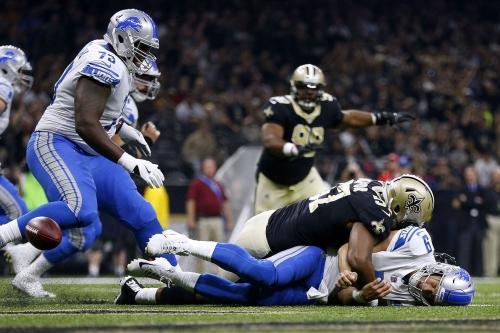 Detroit Lions vs. New Orleans Saints stock report