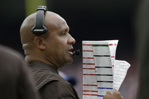 """Did Hue Jackson text Deshaun Watson to """"be ready"""" for the Browns to select him back on draft day?"""