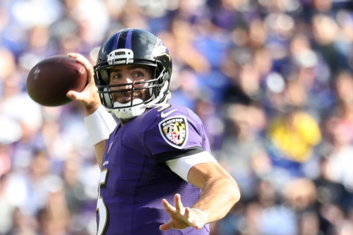 Who should be blamed for the Ravens' terrible offensive display this season?