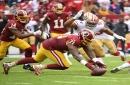 Trent Williams didn't feel like himself, but it was more than enough for the Redskins