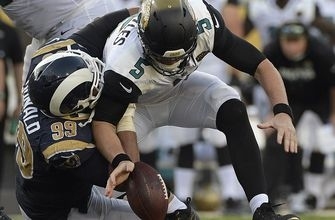 Late mistakes deprive Jaguars chance for back-to-back wins with home loss to Rams