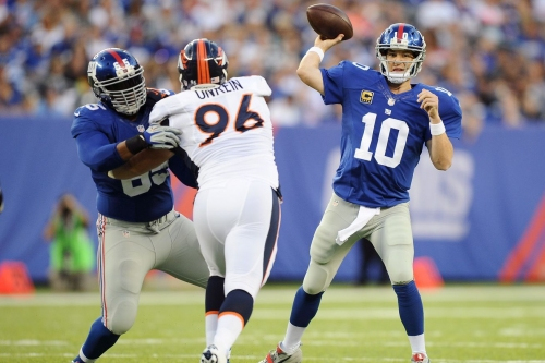 Sunday Night Football: New York Giants @ Denver Broncos Live Thread & Game Information