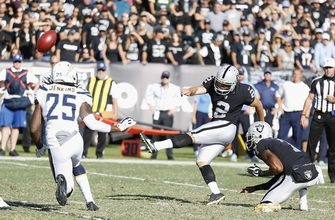 Novak's late kick leads Chargers past Raiders 17-16 (Oct 15, 2017)