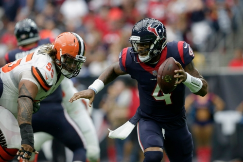 Browns Boast On Potential Of Watson And Texans