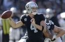 Carr's return not enough to spark struggling Raiders offense