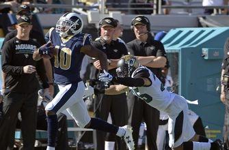 Rams continue winning ways on road, beat Jaguars 27-17