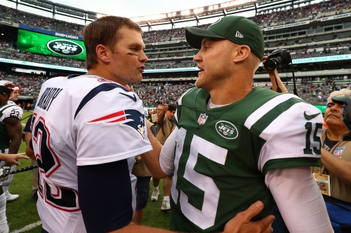 The Tom Brady-Josh McCown duel started crazily and ended aptly