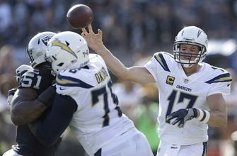 Chargers use late kick by Nick Novak to beat Raiders 17-16