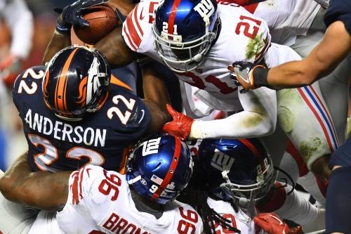 Twitter reacts to Giants upsetting Broncos on 'Sunday Night Football'