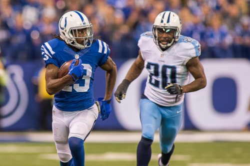 Early AFC South lead is on the line when the Colts visit the Titans
