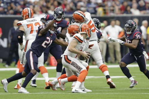 Browns' offensive snap counts, stats, and PFF notes: Week 6