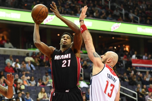 Hassan Whiteside's field goal % has declined 3 years in a row. Can he fix it?