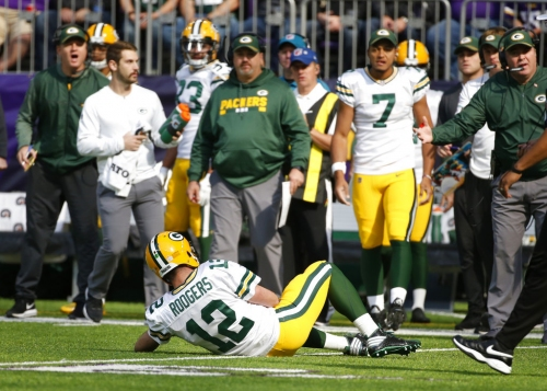 Does the Aaron Rodgers injury make the Lions the favorites to win the NFC North?