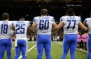 Lions-Saints snap counts: Injuries shuffle offensive line, Teez Tabor sees the field
