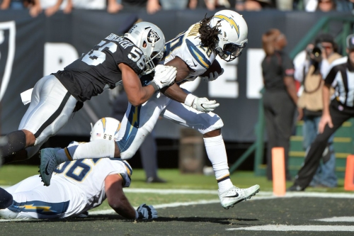 Takeaways From the Los Angeles Chargers-Oakland Raiders Game