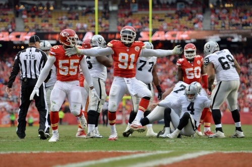 NFL odds: Chiefs are favored over Raiders in Oakland for Thursday Night Football