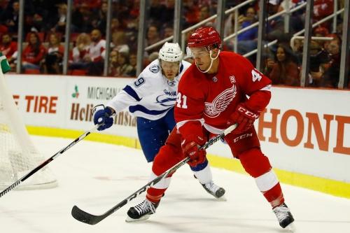 Gameday Updates: Red Wings vs Lightning