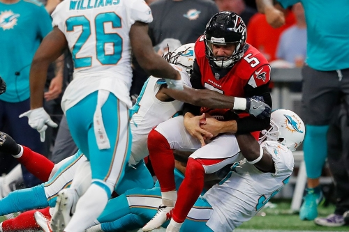 3 Falcons up, 3 Falcons down in Week 6 loss to Dolphins