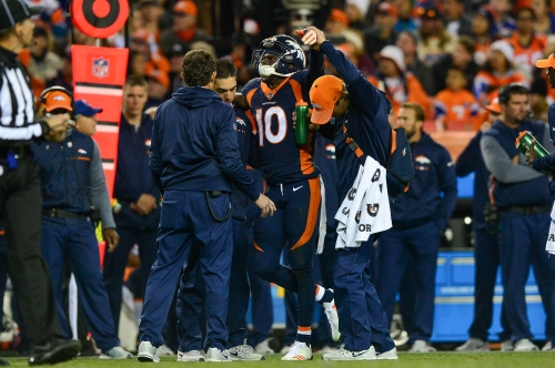 Emmanuel Sanders and Isaiah McKenzie to miss at least one game