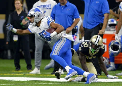 Detroit Lions WR Golden Tate dealing with AC joint sprain, per report