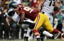 Redskins' Allen has foot injury, Hopkins hip injury