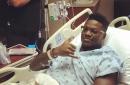 KC Chiefs WR Chris Conley shares surgery photo