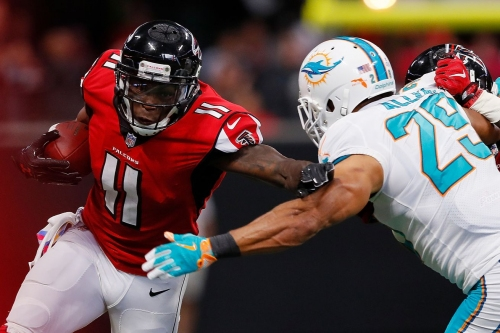 Observations from Falcons vs. Dolphins