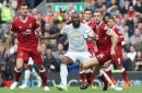 Manchester United striker Romelu Lukaku accused of deliberate kick by Liverpool defender Dejan Lovren