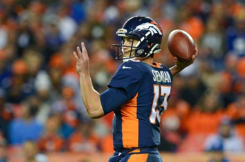 Broncos' Trevor Siemian will play through shoulder injury against Chargers
