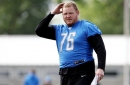 TJ Lang hopeful his back injury is a short-term problem for the Lions