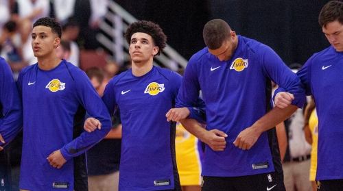 Lonzo Ball says he will play in Lakers' opener, 'probably' in Big Baller Brand
