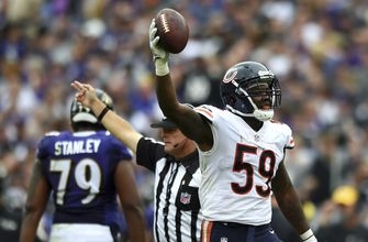 Bears hoping interceptions become contagious after big win