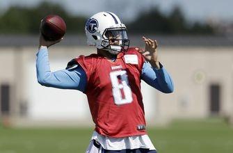 Marcus Mariota starts at quarterback for Titans vs. Colts