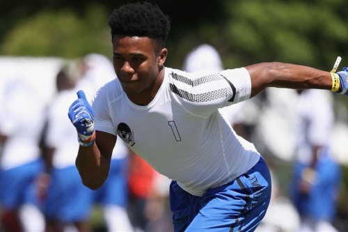 Texas WR commit Rondale Moore set to officially visit 'Horns