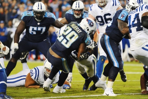 Titans end the streak, beat the Colts 36-22