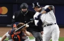 Aaron Judge, CC Sabathia help Yankees beat Astros, trail ALCS 2-1